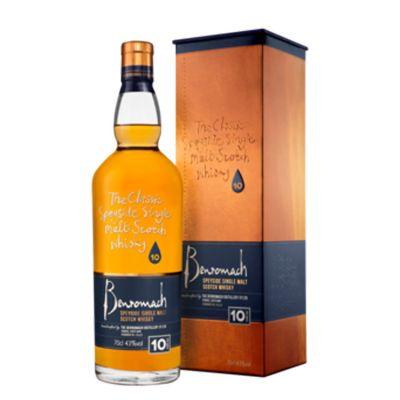 Benromach Single Malt 10 Years Whisky 70 cl