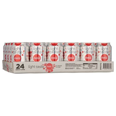 Coca-Cola Light Blik 24 x 33 cl