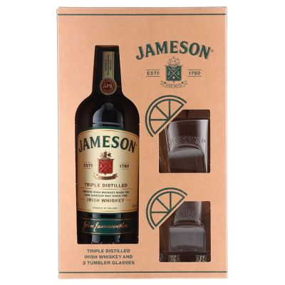 Jameson Whiskey geschenkverpakking 70 cl