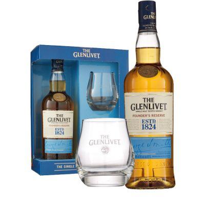 The Glenlivet Founders Reserve + 2 gratis glazen 70 cl
