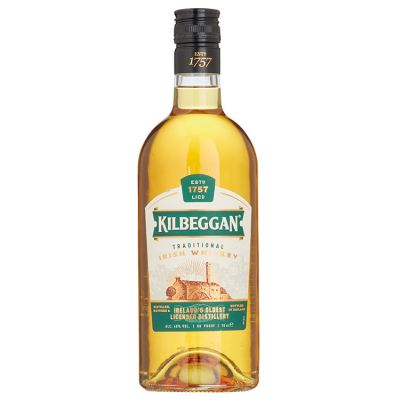 Kilbeggan Irish Blend Whisky 70 cl