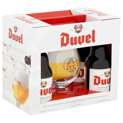 Duvel  Limited Edition Geschenkverpakking 4 x 33 cl
