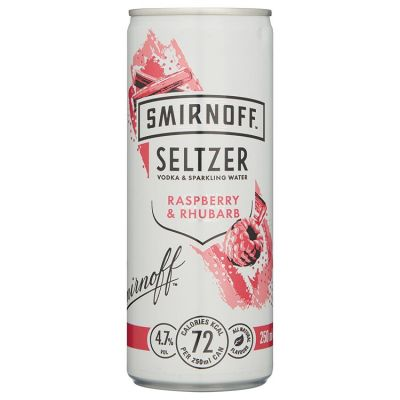 Smirnoff Hardseltzer Raspberry-Rhubarb 25 cl