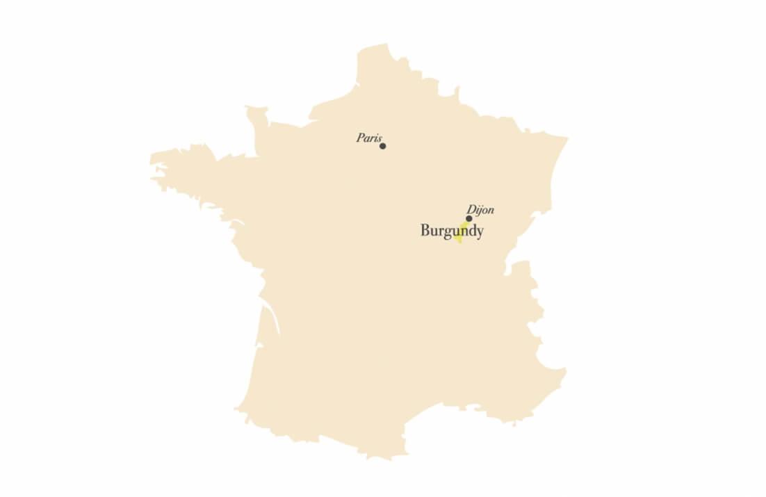 Bourgogne in Frankrijk