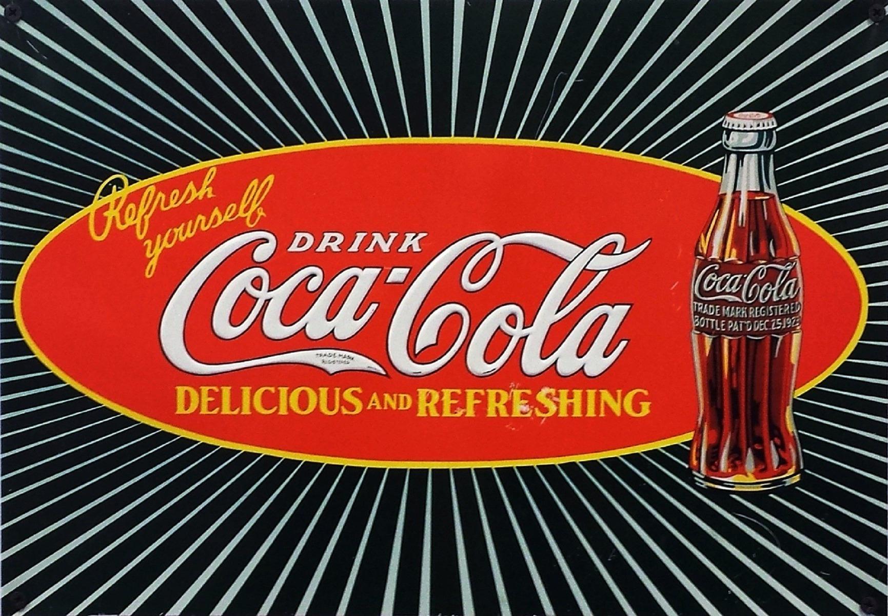Coca Cola logo oud